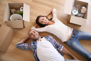 Young adults with renter's insurance